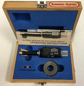 Fowler 54 335 019 Bowers Sylvac Electronic Bore Gage 630 748 16 19mm