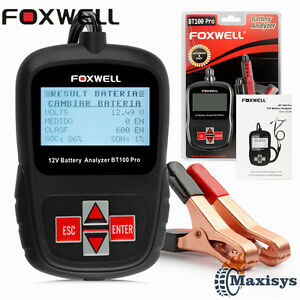 Foxwell 12v Vehicle Car Digital Battery Test Analyzer Automotive Diagnostic Tool