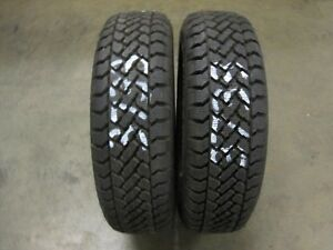 Local Pick Up Only 1 Pacemark Snowtrakker Radial St 2 205 70 14 Tire 3733