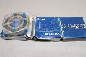 Koyo 62062rsc3 Sealed Bearing Lot Of 4