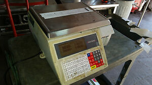 Avery Berkel M2 100 Retail Deli Meat Cheese Candy Scale Printer Has Crack M100