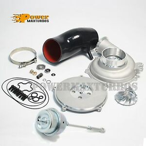 Ford7 3 Gtp38 Turbo Upgrade Compressor Housing Billet Wheel Rebuild Kit Actuator