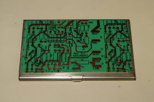 Used Circuit Board Business Card Holder standard Size Pcb Bare Electronics