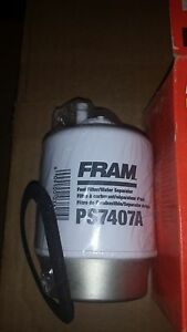 Six For One Money Fram Ps7407a Snap lock Fuel Water Separator Filter Free Ship