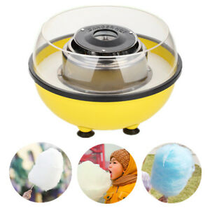 Yellow Electric Cotton Candy Maker Sugar Floss Machine Party Home Us Plug