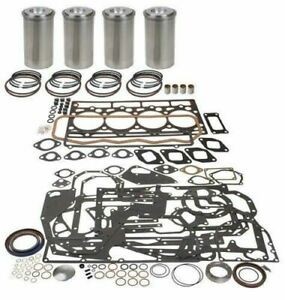 John Deere Engine Overhaul Kit 4 Cyl 4 276t 4045t Diesel 300 Series 6400 340