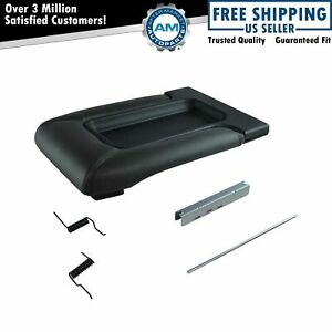 Center Console Lid Repair Kit Dark Gray For Gm Pickup Truck Suv New