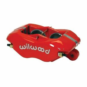 Wilwood 120 6806 Rd Forged Dynalite Caliper Red Powdercoated Universal 13 06