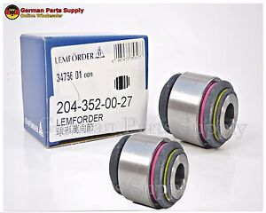 Mercedes Benz Control Arm Bushing Set Rear Left Right At Knuckle Bushings
