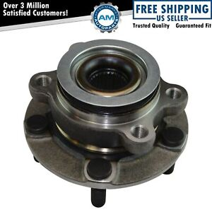 Front Wheel Bearing Hub Assembly Lh Driver Or Rh Passenger Side For Nissan New