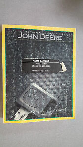 John Deere Pc859 Parts Catalog 4020 Tractor serial No 200 999