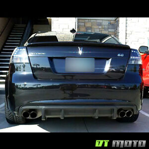 Blk 2008 2009 Pontiac G8 Lumiled Led Tail Lights Brake Lamps 08 09 Left Right