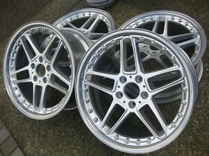 Ultra Rare Genuine Authentic 19 Ac Schnitzer Type Iii 2pc Rims In Showrm Cond