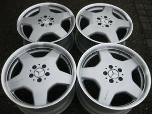 Genuine Mercedes Amg Staggered Monoblock 18 Rims In Showroom Condition