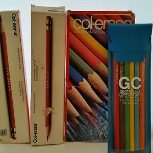 Faber Castell Col Erase And Geotronics Pencils Mixed 26 Qty