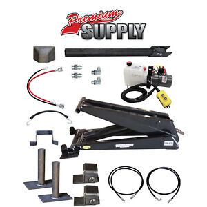 12 Ton 24 000 Lb Dump Trailer Hydraulic Scissor Hoist Kit Ph630 Power Hoist