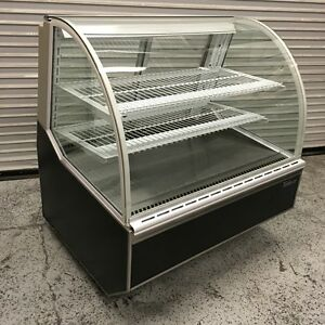48 Dry Glass Bakery Dessert Display Case Turbo Air Tb 4 5611 Commercial Nsf