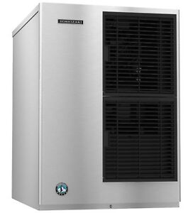 New 387 Lb Ice Cube Maker Machine Hoshizaki Km 340maj 5590 Nsf Commercial Nsf