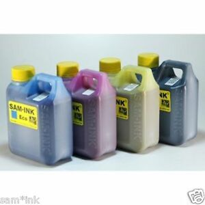 Sam ink Four Bottles Of One Liter Eco sol Max Cmyk Ink For All Roland Printers