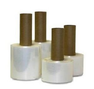 120 4 Inch 80 Ga 1000 Feet Extended Core Clear Stretch Wrap 120 Rolls