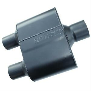 Flowmaster 8425152 Super 10 Muffler 2 5 Center Inlet 2 25 Dual Outlet 409s Ss