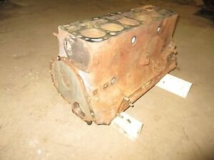 48 49 50 51 Ford Car Pickup Truck H Series 226 Engine Motor Cylinder Block