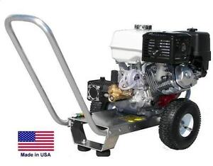 Pressure Washer Portable Cold Water 3 Gpm 2700 Psi 5 5 Hp Honda Eng Ar
