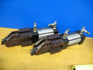 2 Destaco 861 mr Power Clamp Pneumatic Work Holding Clamp vgc