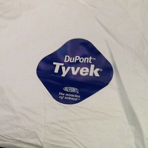 25 Dupont Tyvek Personal Protection Coverall Suit Medium