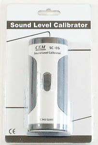 Sc 05 Industrial Sound Level Meter Mic Calibrator 94 114 Db Iec 942 Class 2 New