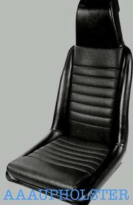 Fits Porsche 914 Front Seats New Upholstery Recovery Kit Fits 1975 1976 Black