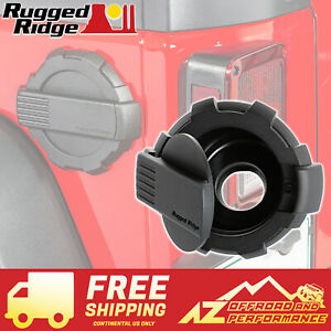 Rugged Ridge Elite Series Fuel Door Black Fits 07 18 Jeep Wrangler Jk 11425 12