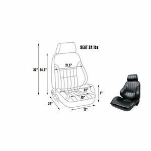 Scat By Procar 80 1000 51l leather Seat Driver Side Pro Rally Series 1000