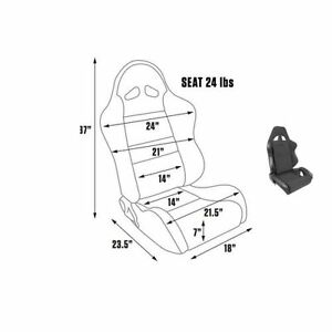 Scat By Procar 80 1600 61l Seat Driver Side Pro Rave Series 1600