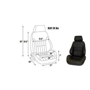 Scat By Procar 80 1000 51l Seat Driver Side Pro Rally Series 1000