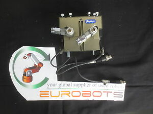 Schunk Jgp 100 1 as Tested With 90 Days Warranty 2 Finger Robotic Gripper