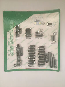 Gw 18 56490 hsp Small Block Chevy Stainless Steel Engine Bolt Kit 350 Logo