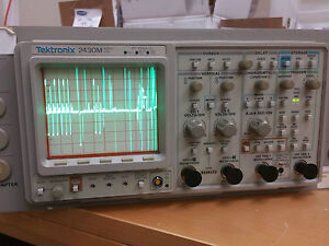 Tektronix 2430m a Portable Digital Storage Oscilloscope