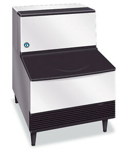 New 263 Lb Ice Maker W Storage Bin Hoshizaki Km 260bah 5619 Commercial Nsf