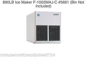 New 690 Lb Ice Maker Hoshizaki F 801maj c 5660 Cubelet Soft Nsf Machine