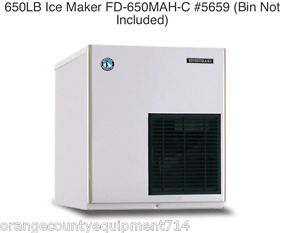 New 650 Lb Ice Maker Hoshizaki Fd 650mah c 5659 Cubelet Soft Nsf Machine New