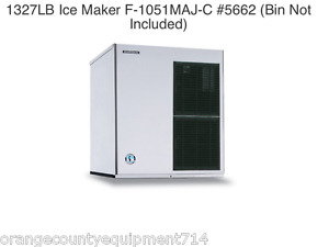 New 1327 Lb Ice Maker Hoshizaki F 1501maj c 5662 Cubelet Soft Nsf Machine New