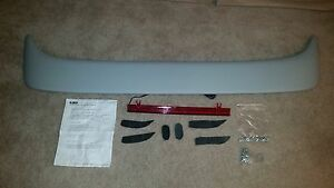 Universal Rear Spoiler Lighted Unpainted And Primed 07 1153r