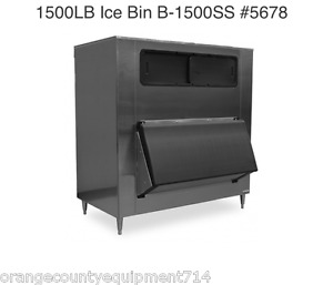 New 1500 Lb Ice Bin Hoshizaki B 1500ss 5678 Storage Heavy Duty Insulated Nsf