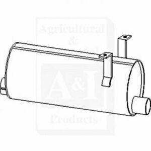 Compatible With John Deere Muffler Ar92359 2440 2640 With Horizontal Exhaust