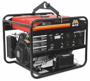 Generator 6000 5000 Watts 13 5 Hp Gasoline Subaru Ohv Low oil Shutdown