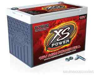 S1600 Xs Power Sealed Agm 16 Volt 2 000 Max Amp Lead Acid Battery W Hardware