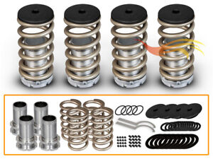 Bcp Gold 96 00 Honda Civic Adjustable Lowering Coilover Coil Spring Kit