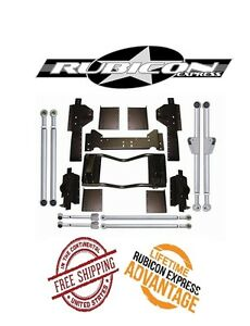 Rubicon Express Extreme Duty Long Arm Upgrade Kit 93 98 Jeep Grand Cherokee Zj