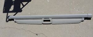 Jeep Grand Cherokee Cargo Cover Light Gray 2005 To 2010
